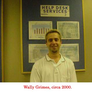 Wally Grimes, circa 2000.